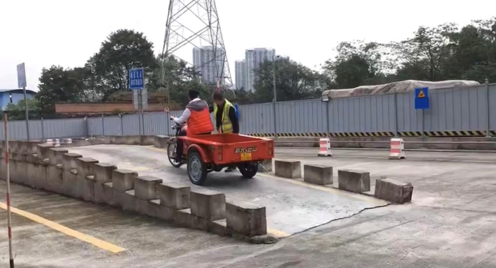 摩托车斜坡起步